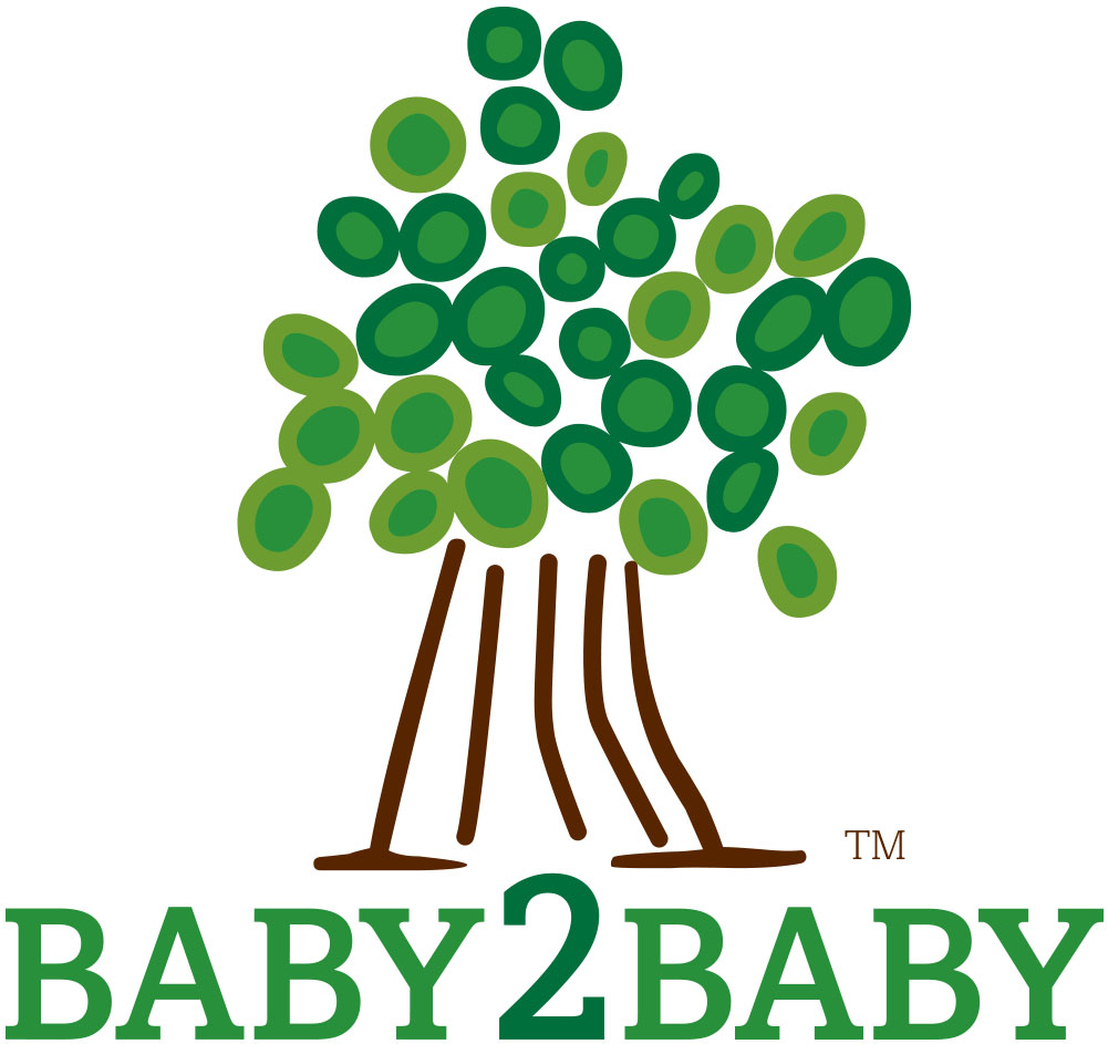 Coterie partner Baby2Baby logo